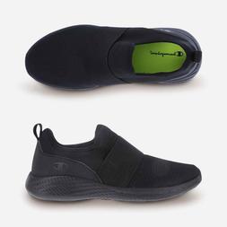 Champion Women's Strike Black Slip-On Sneakers Shoes Size 13