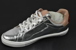 Women's The Fix Tailor Heart Lace Up Fashion Sneaker Shoes S