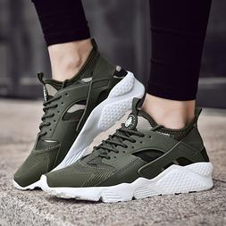 Women's Walking Shoes Lace up Athletic Sneakers Gym Breathab