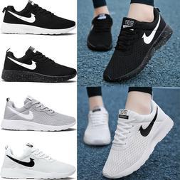 Women's Walking Shoes Sneakers Mesh Running Shoes Fashion Te