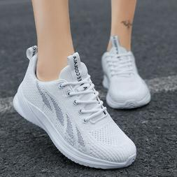 Women Shoes Breathable Tennis Shoes Running Walking Sport Sn