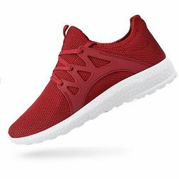 QANSI Womens Fashion Sneakers Casual Athletic Tennis Knit Ru
