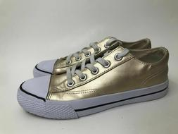 Airwalk Women's Gold Sneakers Shoes Size 12 NON MARKING BA