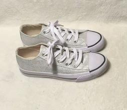Airwalk Women's Ivory & Silver Textured Sneakers Shoes Siz