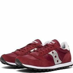 Saucony Womens Jazz Low Top Lace Up Fashion Sneakers, Zinfan