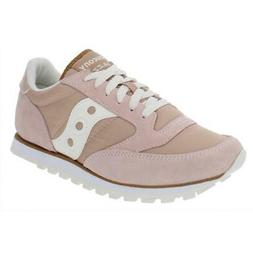 Saucony Womens Jazz Lowpro Pink Fashion Sneakers 6.5 Medium