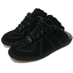 Maison Martin Margiela Womens Leather Velvet Slip On Shoes S