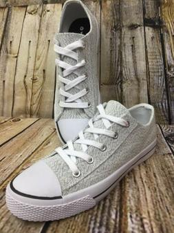 Womens Airwalk Legacee Sneakers Heather Jersey Light Grey Si