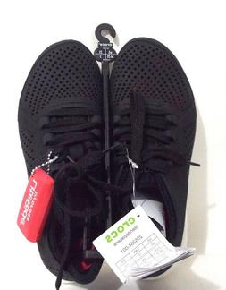 Crocs Womens Lite Ride Pacer Black Water Shoes Size 5