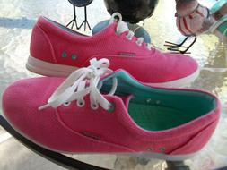 Womens Crocs Lo Pro Pink Sneakers Tennis Shoes Size 9