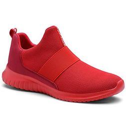 KONHILL Womens Sneakers Tennis Shoes - Lightweight Mesh Slip