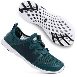 ALEADER Womens Tennis Walking Shoes, Fashion Sneakers for La