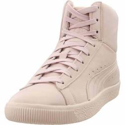 Puma Young & Reckless Clyde Mid Sneakers Casual    - Pink -