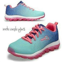 Youth Kids Girls Sport By Sketchers Sneakers Athletic Runnin