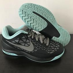 Nike Zoom Cage 2 Tennis Shoes Sneakers Black 705247 004 New