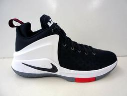Mens Nike Zoom Witness Lebron Sneakers New, Black White Red